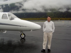 Citation Jet in Alaska.